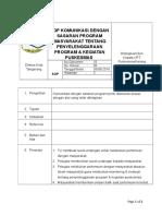 25_SOP KOMUNIKASI DENGAN SASARAN PROGRAM MASYARAKAT TENTANG PENYELENGGARAAN PROGRAM & KEGIATAN PUSKESMAS.doc