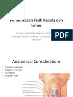 Pemeriksaan Fisik Kepala Dan Leher