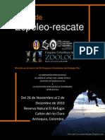 Curso Espeleo-rescate - Congreso Zoologia Medellin (2)