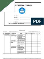 Program Evaluasi KELAS 1 SD