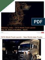 TATA Wolrd Truck Launch- May-2009