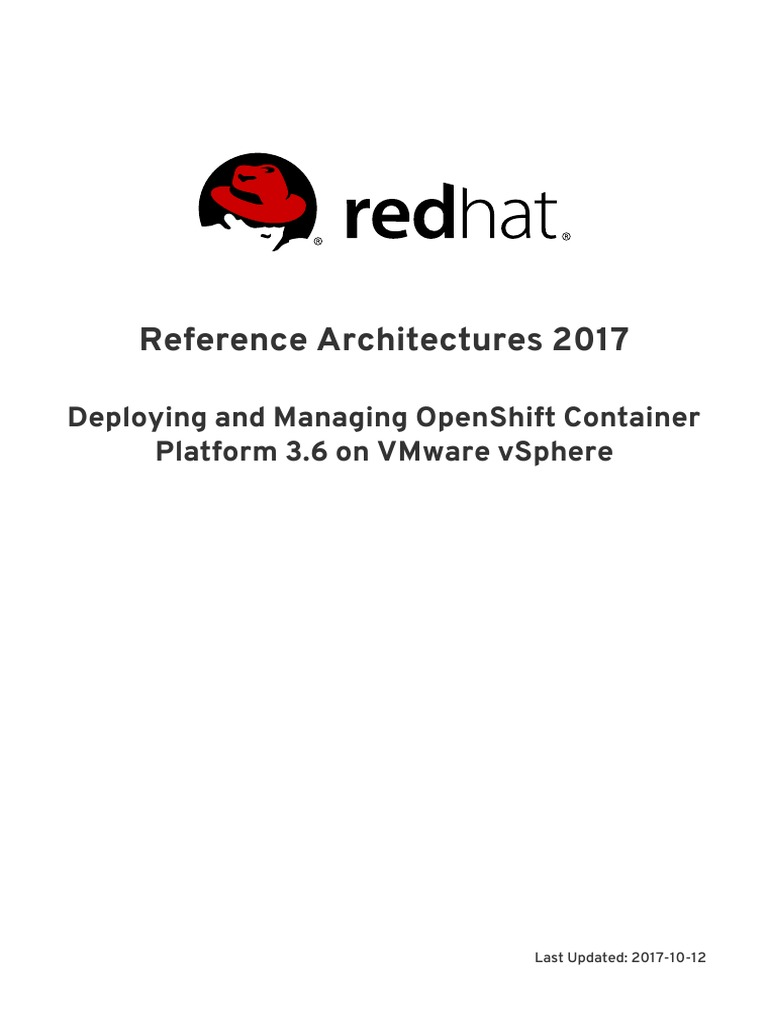 Reference Architectures-2017-Deploying and Managing