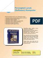TIK Kelas 7. Bab 6. Perangkat Lunak (Software) Komputer