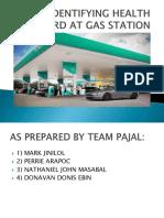 Identifying Health Hazard at Gas Station