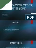 Conmutación óptica de paquetes