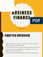 chapter 15 business finance