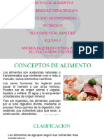 Conceptos de Alimento