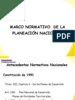 080907 Marco Normativo Planeacion