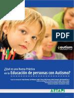 Educación de personas con autismo