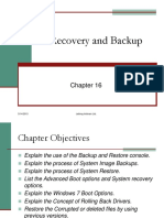 16.Backup and Recovery