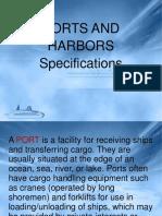 Ports and Harbors Specs