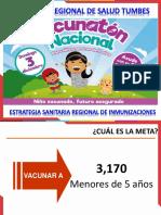 Ppt Campaña de Vacunaciónno Nacional Regional