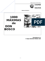1000 Maximas de Don Bosco IMp