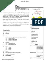Hydrogen Sulfide - Wikipedia
