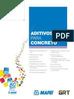 Brochure Admixtures for Concrete SP