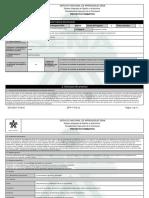 Reporte Proyecto Formativo - 1453418 - Mejoramiento Estructural de Un