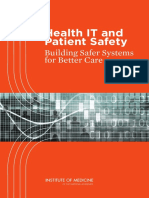 Patient Safety and Health IT Prepub
