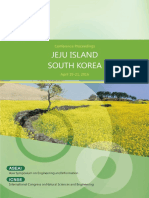 201604 Jeju Island Conference Proceeding(Nature Science)