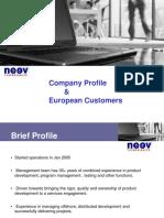 Neev Technologies Europe V1