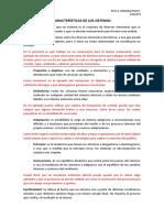 Ing. de Sistemas Características de Los Sistemas