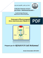 Cours Electromagnetisme 1111