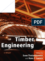 Timber Engineering, Sven Thelandersson