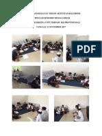 Dokumentasi Kegiatan Terapi Aktivitas Kelompok