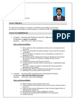 GIREESH CV Logistics Updated