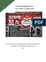 Laporan Pertanggungjawaban Acara 17an Kp Senen PDF