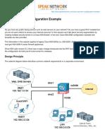 Cisco ASA DMZ Configuration Example