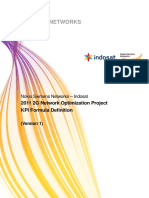 KPI Formula Definition - 2011 2G Network Optimization