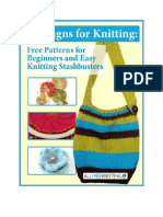 8 Designs for Knitting Free Patterns for Beginners and Easy Knitting Stashbusters Free eBook.pdf