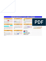 Calendari escolar 2010-2011