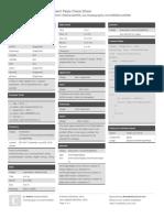 Angular2 Pipes Cheat Sheet
