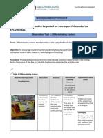 weekly guidelines practicum 4