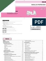 Manual de Propietario S3 125 FI Portugues