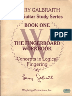 Barry Galbraith - Fingerboard Workbook