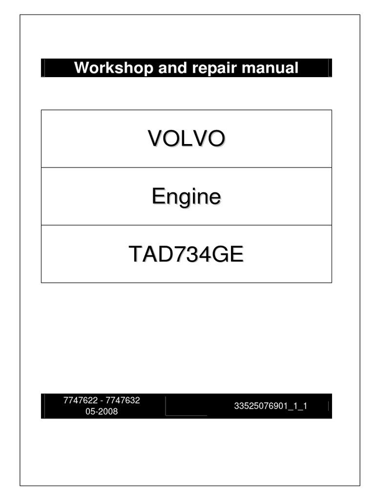 Tad1241ge Manual 2007 Polaris Sportsman 500 Adc Wiring Diagram Array Tad734ge Piston Cylinder Engine Rh Es Scribd Com