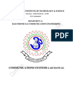 Cs Lab Student Manual