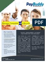 PayBuddy Brochure