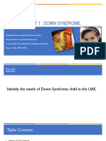 down syndrow assessment  mariam juma- suad  5