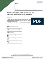 Hidden in plain sight political opposition and hegemonic authoritarianism in Azerbaijan.pdf
