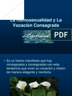 La Homosexualidad y La Vocación Consagrada.ppt