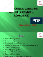 Producerea Cărnii de Iepuri Ecologice