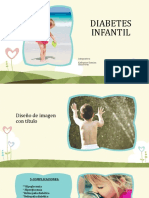 Exposición Diabetes Infantil Blanco