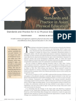 Physical Education in japan