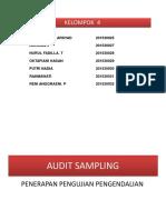 Auditing Bab 8