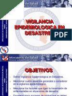 Epidemiologia de Desastres