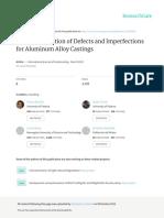 Int j Metal Casting 2015 Defect Classification