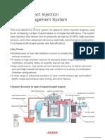 DENSO, Gasoline Direct Engine Management System
